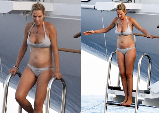 Pictures of Uma Thurman in a Bikini