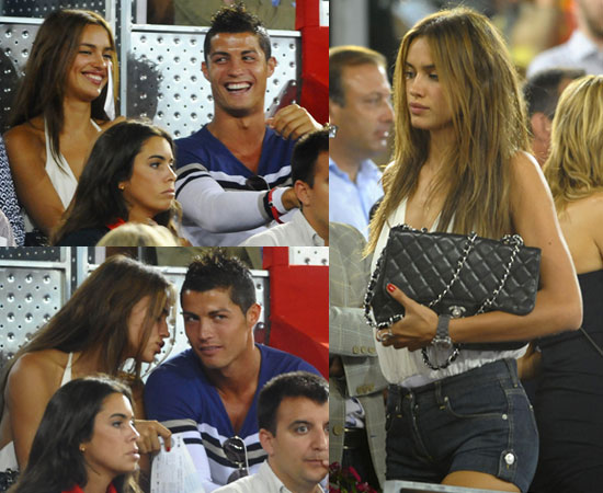 irina shayk cristiano ronaldo. Irina has spent time in the