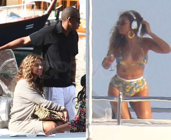 Beyonce Breaks Out Her Bikini With Jay-Z in South of France!