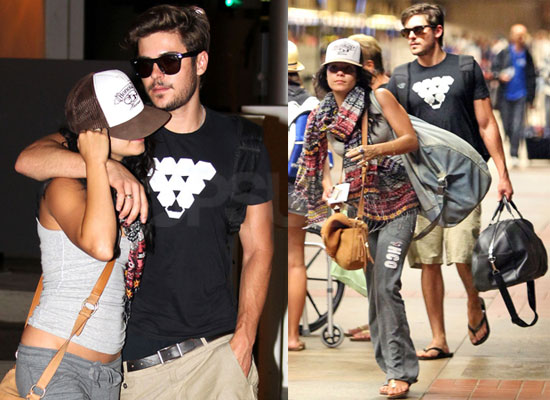 vanessa hudgens returning from hawaiian vacation popsugar celebrity