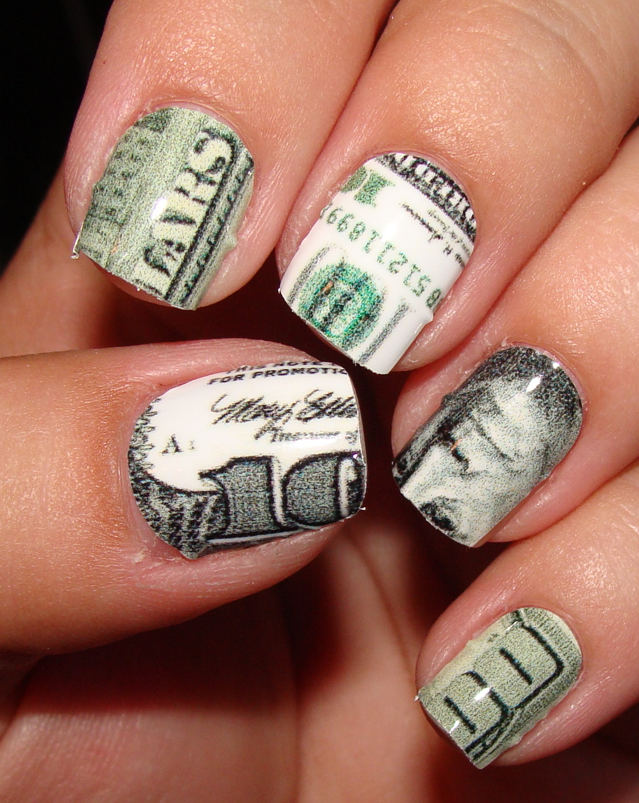 Money nail designs pictures funky nails money nail art money nail designs pictures best dollar nail art designs styles at life prinsesfo Images