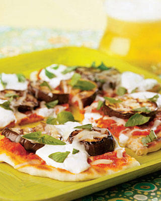 Grilled Sausage And Eggplant Parmigiano Pizza Recipes — Dishmaps