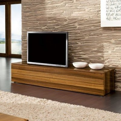 Contemporary Furniture on Terra Modern Rustico Wood Low Tv Sideboard Wood Low Sideboard