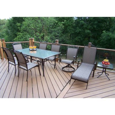 Charleston Wicker Furniture on Patio Furniture  Cascade Patio Dining Set