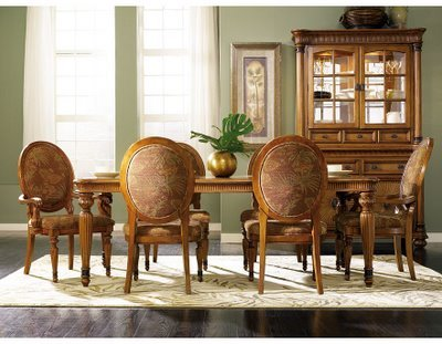 Mission Style Dining Room Furniture on Elegant Furniture Dining Room Tropical Style