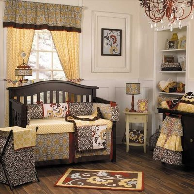 Sets on Baby Bedding Set  Delilah 4 Piece Isabella Secretary Cocoa 4 Piece