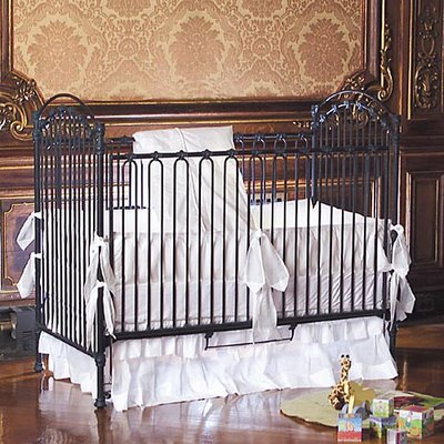 Iron Baby Crib on Decor Venetian 3 In 1 Iron Crib In Slate Baby Furniture  Bedroom