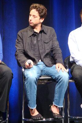 Sergey Brin's Shoes