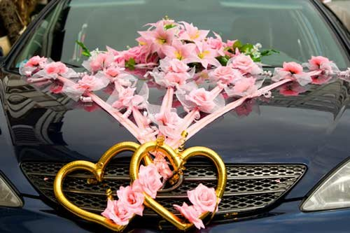 mobil pengantin