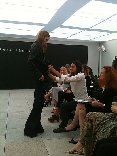 Olivier Theyskens X Theory. Olivier Theyskens Debuted His