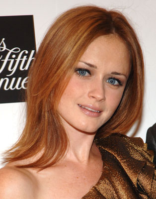 alexis bledel is the latest star seen with one of the it colors of the