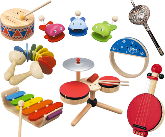 Toy Musical Instruments : Eco friendly musical instruments popsugar moms
