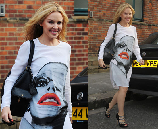 Kylie Minogue Carries Christy
