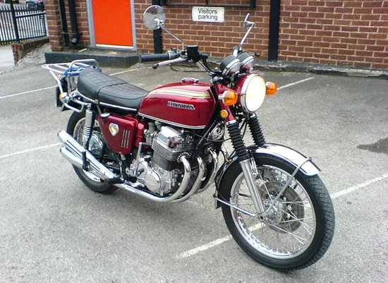 The bike which started out in 1969 as a standard version has seen (probably)