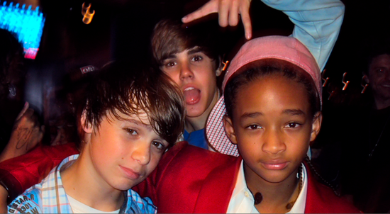 justin bieber jaden smith and christian. Justin Bieber, Christian