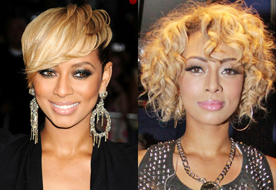 Keri Hilson Hairstyles Blonde. H m fashion againstkeri hilson