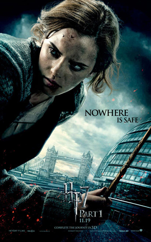 harry potter and the deathly hallows poster hermione. Check Out New Harry Potter and