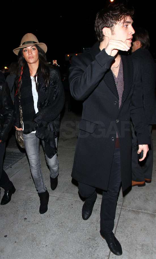 Ed Westwick and Jessica Szohr Are Still Going Strong