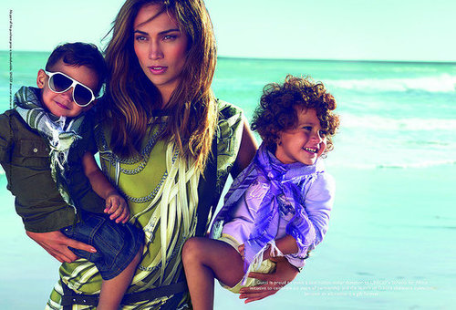 Jennifer Lopez stars in Gucci's childrens collection for ...