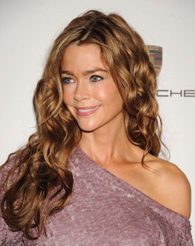 Denise Richards's hair has been looking particularly lustrous these days, ...