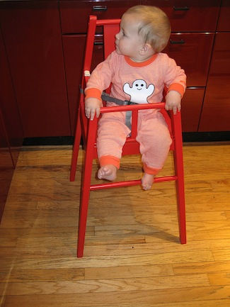 Review and photos of ikea blames high chair popsugar moms for High baby chair ikea