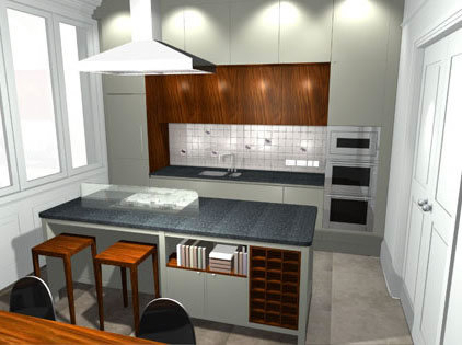 Kitchen Design Sketch on Modern Kitchen  Kitchen Design  Kitchen Interior  Kitchen Cabinet