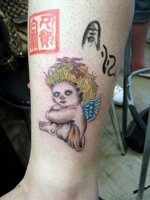 Tags angel free tattoo design