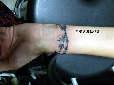 Bracelet Tattoo Design.