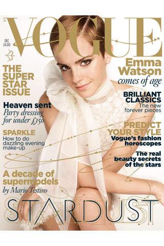 emma watson vogue shoot. and Emma Watson (Burberry