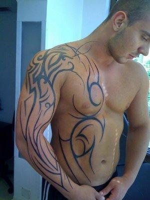 Body Tribal Tattoo