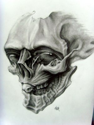 skull tattoo design. Skull tattoo design
