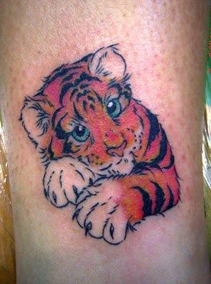 Cute Tattoos on Cute Tiger Tattoos