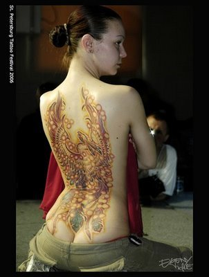 sexy Phoenix Tattoo girl tattoo girly art. Finally, once you have decided on