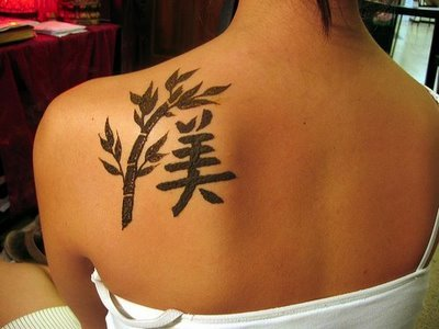 chiness symbol sexy girl tattoos girly. Chinese symbol tattoos are very