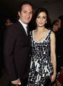 Darren Aronofsky couple