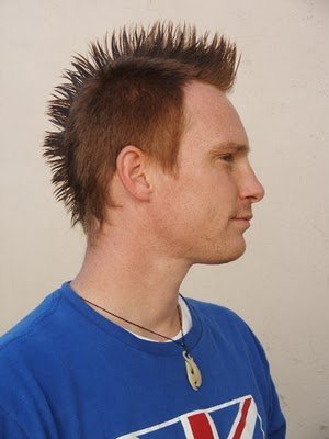 Cool mens short hairstyle -Mohawk haircuts