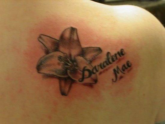 Shoulder Permanent Tattoo Design
