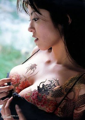 Japanese Tattoo in the 2011 Concept