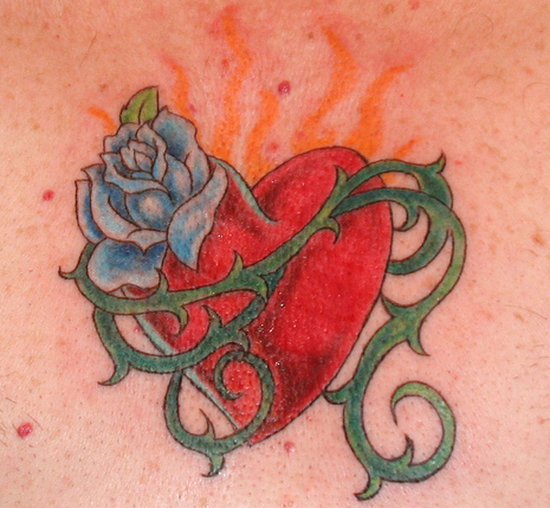 Of all the tattoos that may be wrong? You can get a heart and love tattoo