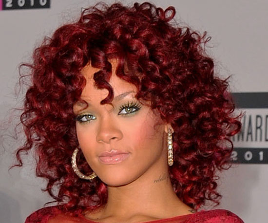 Rihanna debuted a whole new 2011
