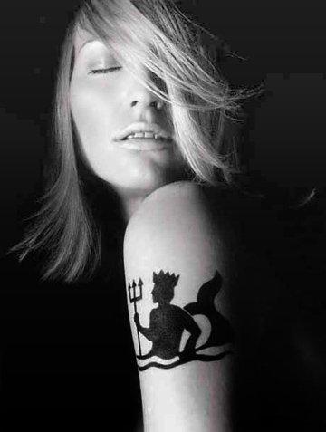 tattoos for girls tattoos designs aquarius tattoo image. Since cool aquarius tattoos tend to be imaginative by nature, cool Aquarius