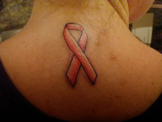 breast cancer ribbon tattoos tweety bird tattoos designs