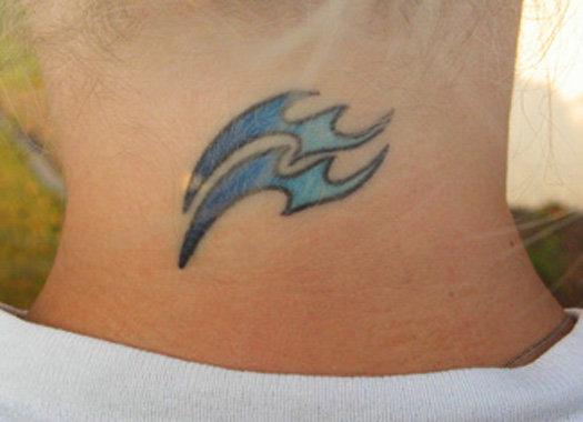 new tattoo, constellation of