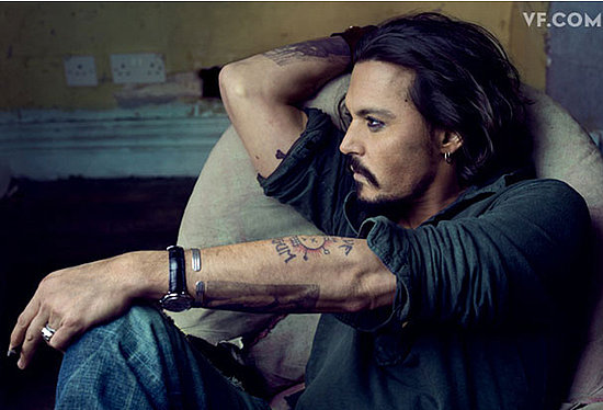 Johnny Depp does Vanity Fair-january 2011