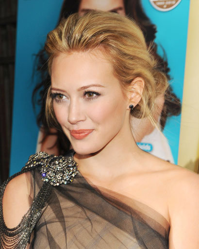 hilary duff wedding hair. Wedding Hair Style Crown