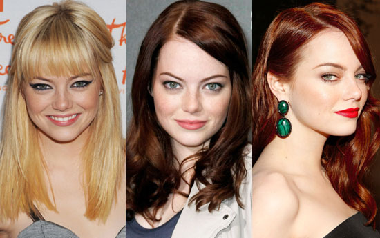 emma stone hair color. In October, we saw Emma as a