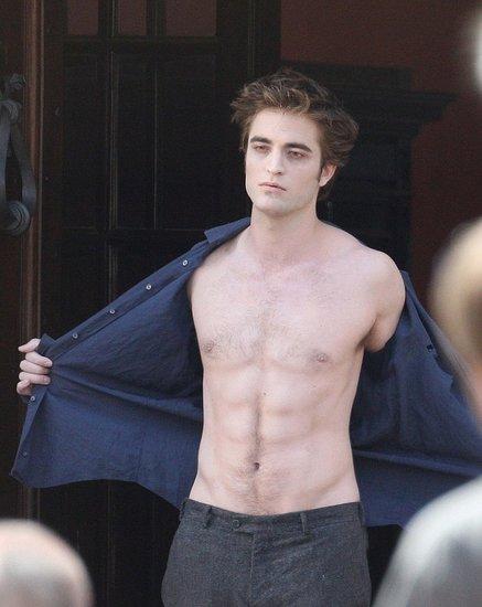 robert pattinson abs