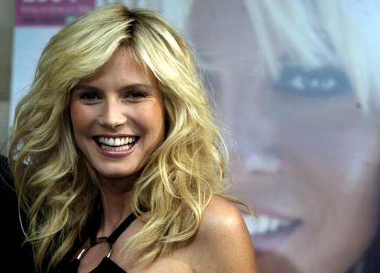 heidi klum hair color. 2011 heidi klum short hair