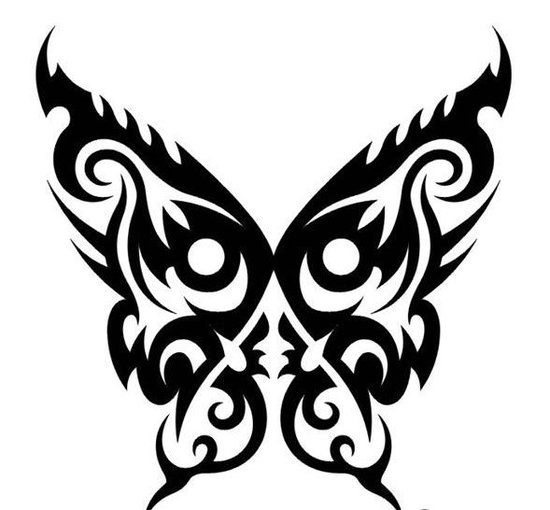 Free Hot Tattoo Designs With Butterfly Tribal Tattoo Gallery Arts Pictures 4