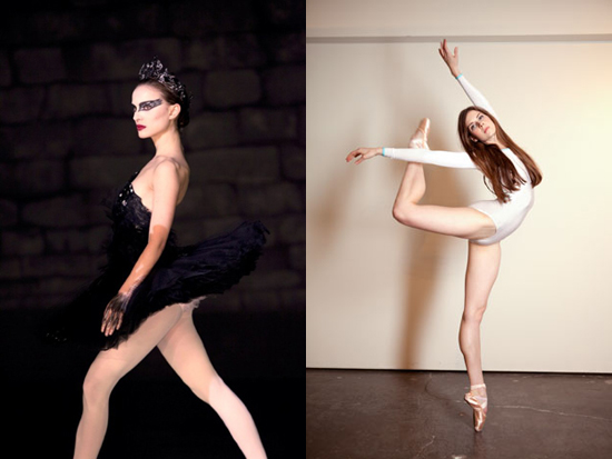 herself to the lifestyle that many professional ballet dancers follow